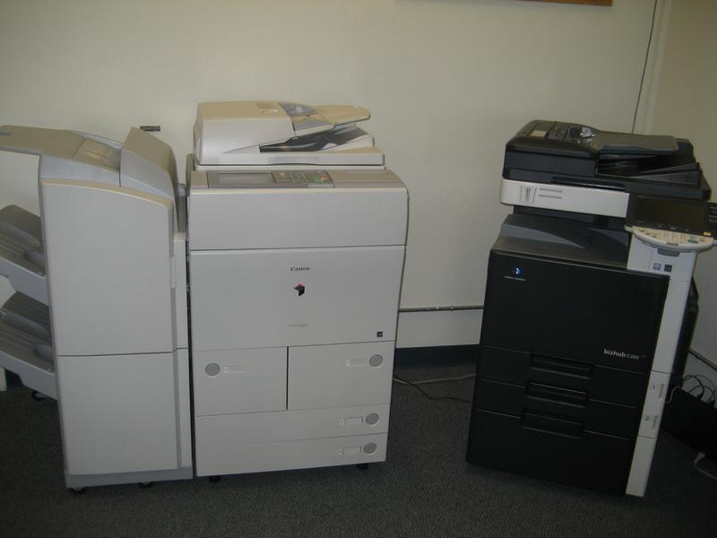 Full Service And Self Service Copying